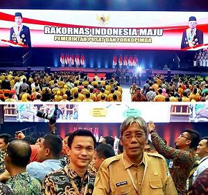 RAPAT KOORDINASI NASIONAL (RAKORNAS) INDONESIA MAJU ANTAR PEMERINTAH PUSAT DAN FORUM KOMUNITAS PIMPINAN DAERAH (FORKOPIMDA) TAHUN 2019