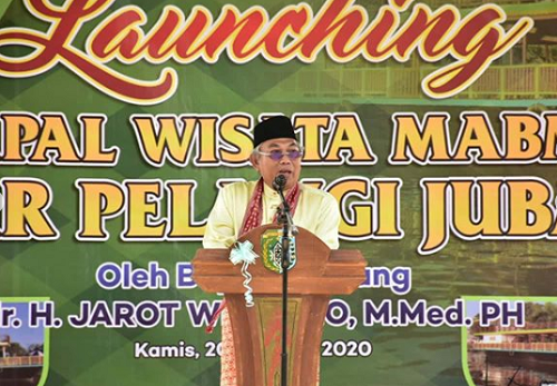 Launching Kapal Wisata MABM Bidar Pelangi Jubair