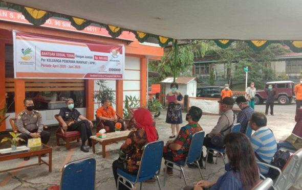 Launching Penyaluran Bantuan Sosial Tunai (BST)