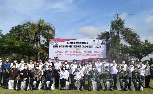 """Bupati Sintang Jarot Winarno Menghadiri Upacara Hari Anti Korupsi Sedunia """"Hakordia"""""""