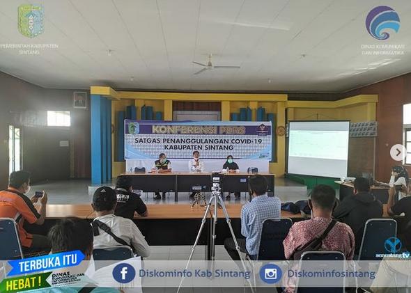 Press Release Terkait Perkembangan Terkini  Penanganan Covid-19 di Kabupaten Sintang