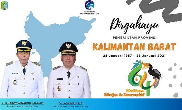 Dirgahayu Pemerintah Provinsi Kalimantan Barat